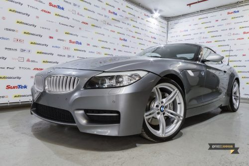 BMW Z4 для Autosecurity