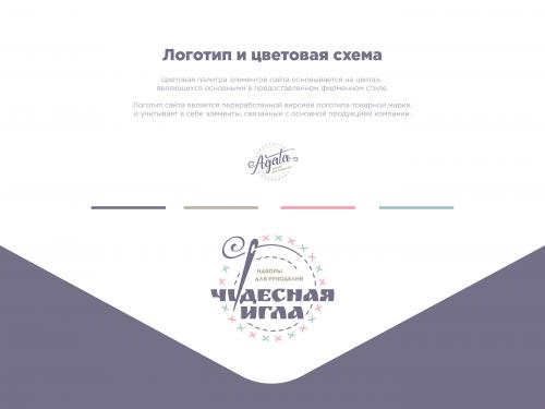 Дизайн интернет-магазина «Чудесная игла»