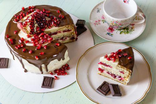 Торт и кексы